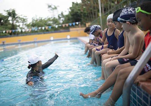 natación Sek las americas